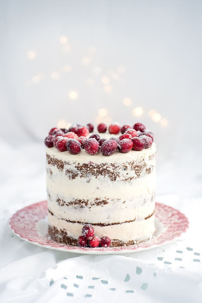 Festive Christmas Cake With Cranberry And Walnuts White Christmas Christmas Cake Recipes Christmas Cake Holiday Cakes