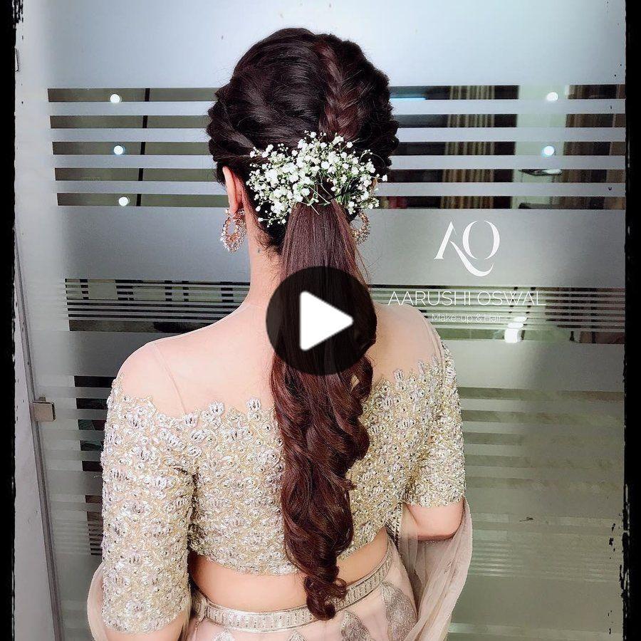 21 + Sweet & Ideas peinado elegante con la respiración del bebé delicada de las flores in 2020 ...