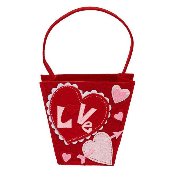Wholesale Love Be Mine Felt Gift Bags