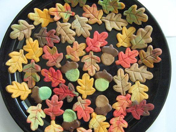 Oak Leaves & Acorn Cream Cheese Mints Weddings by SayItSoSweetly ...