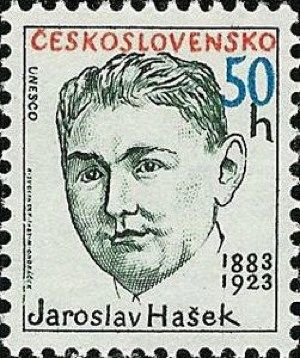 Resultado de imagem para SELO DE Jaroslav Hašek,