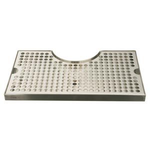 Beer Drip Tray 12 Stainless Steel Surface Mount 3 Column Drip Tray Tray Surface