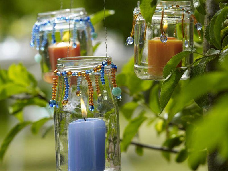 Gartendeko zum Selbermachen - 944185_WindlichterZurgartenparty_800x600
