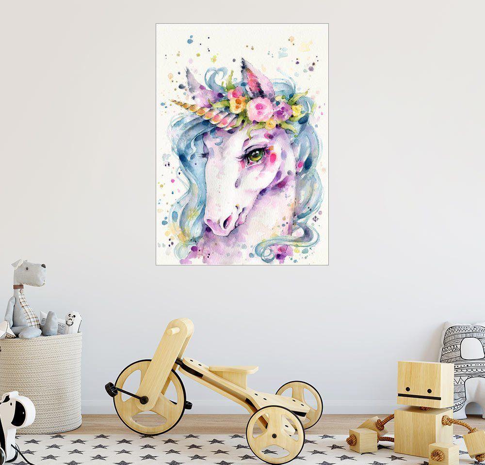 Posterlounge Wandbild - Sillier Than Sally »Little Unicorn« online kaufen   OTTO
