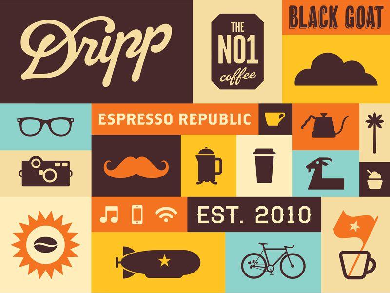 Dripp Coffee Pattern