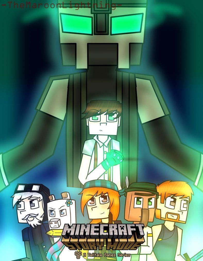 Minecraft Story Mode Season 2 By Themaroonlightning Minecraft