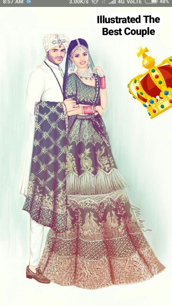 indian weddings wedding fashion illustrations fashion