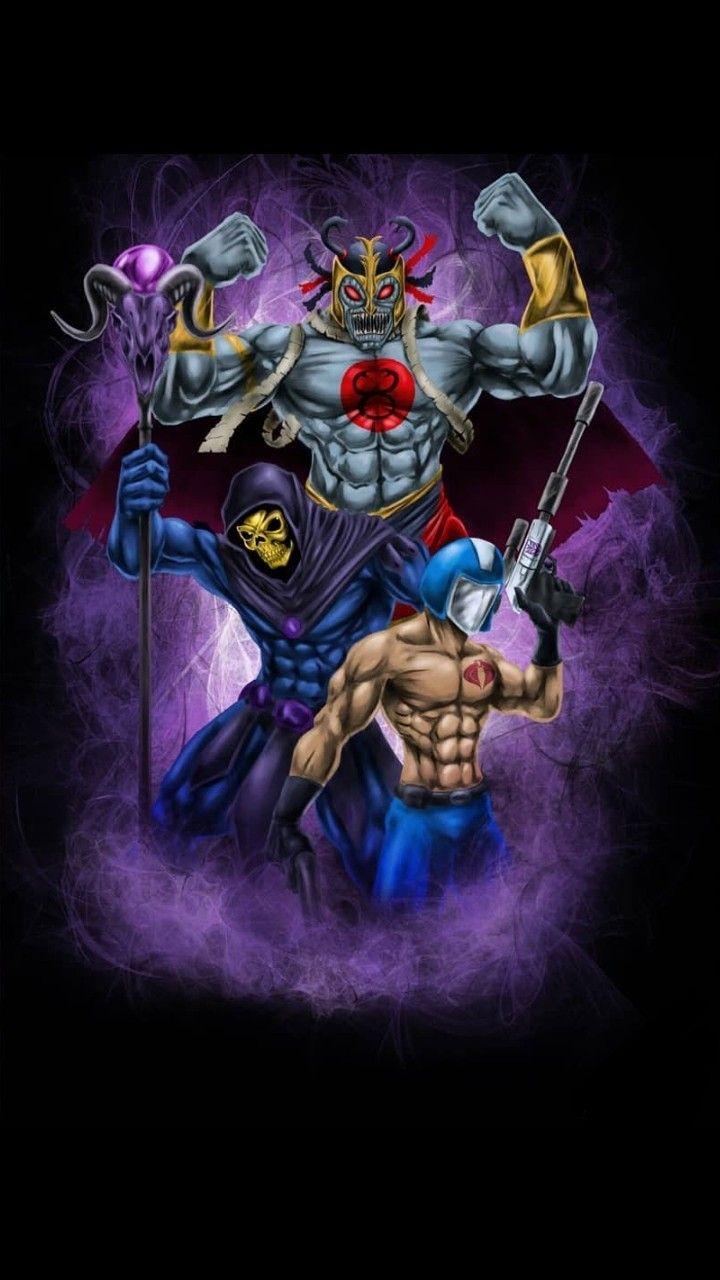 Mom-Ra Skeletor Cobra Commander | Gi joe | Comic book ...