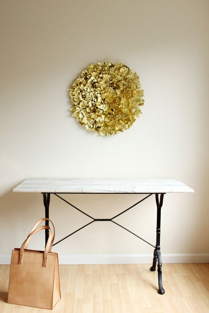 How To Make A Giant Gold Wall Decoration Diy Gold Decor Decor Gold Wall Decor