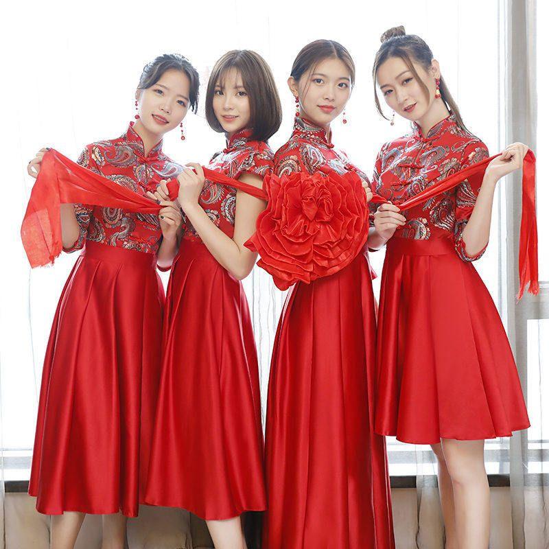 Oriental Bridesmaid Dresses