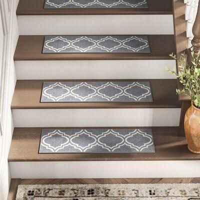 Best Alcott Hill Arette Grey Stair Tread In 2020 Stair Tread 400 x 300
