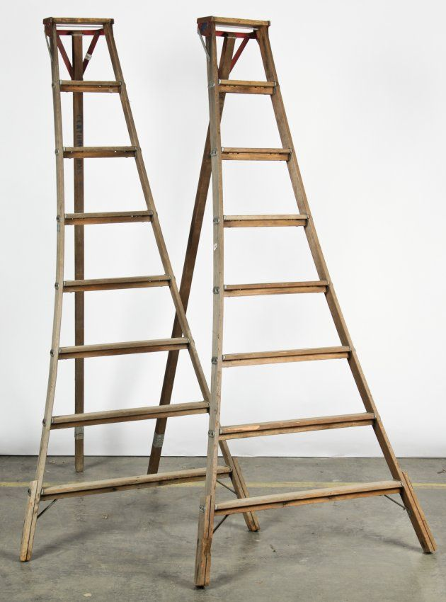 2 Vintage Orchard Ladders Feb 28 2016 Material Culture In Connecticut Ladder Orchard Vintage