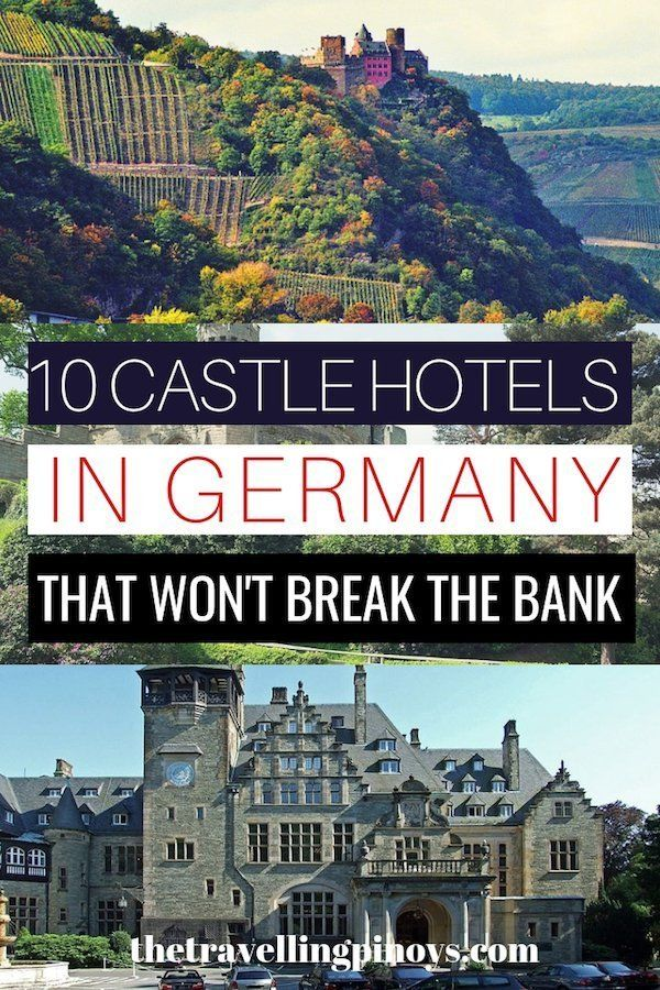 10 Best Castle Hotels in Germany  – The Travelling Pinoys