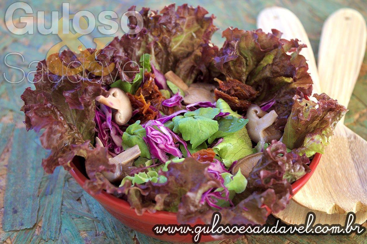 Receita de Salada de Agrião com Repolho