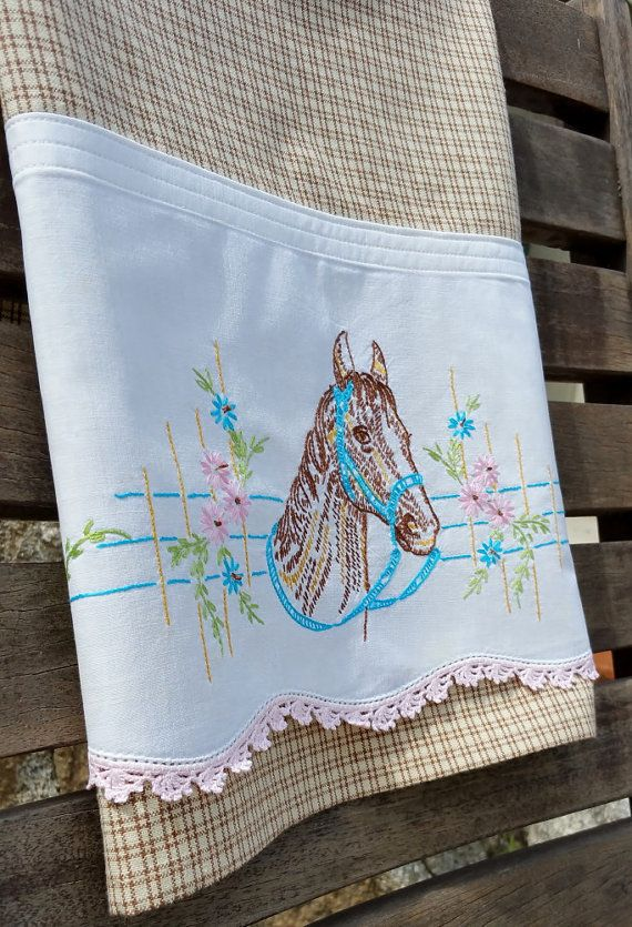 Equestrian Horse Mare Filly Tea Towel by TwoGirlsLaughing on Etsy