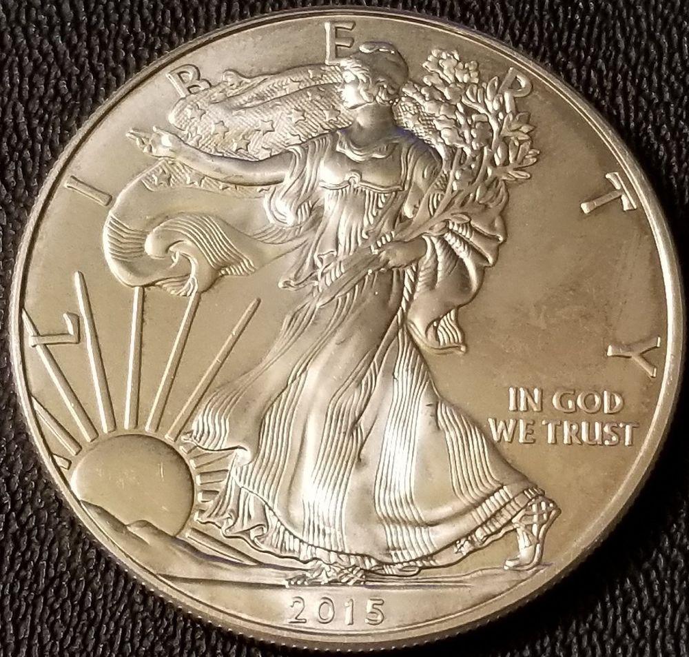 2015 Silver American Eagle 1oz Coin 999 Fine Silver Bullion Silver Bullion American Silver Eagle Bullion