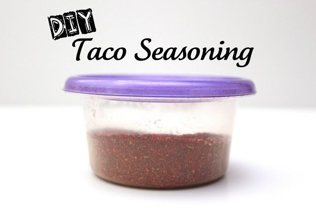 DIY Taco Seasoning #diytacoseasoning To use: substitute 2 rounded Tablespoons for 1 packet of taco seasoning. #tacoseasoningpacket