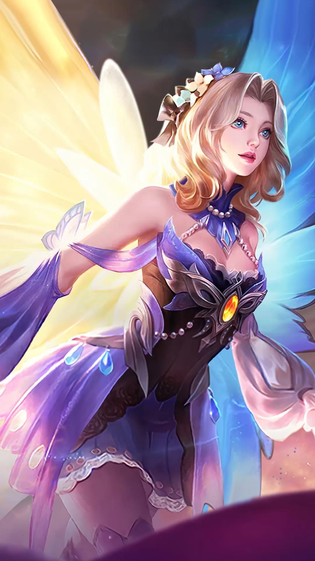 Lunox Butterfly Seraphim - Mobile Legends [ Live Wallpaper
