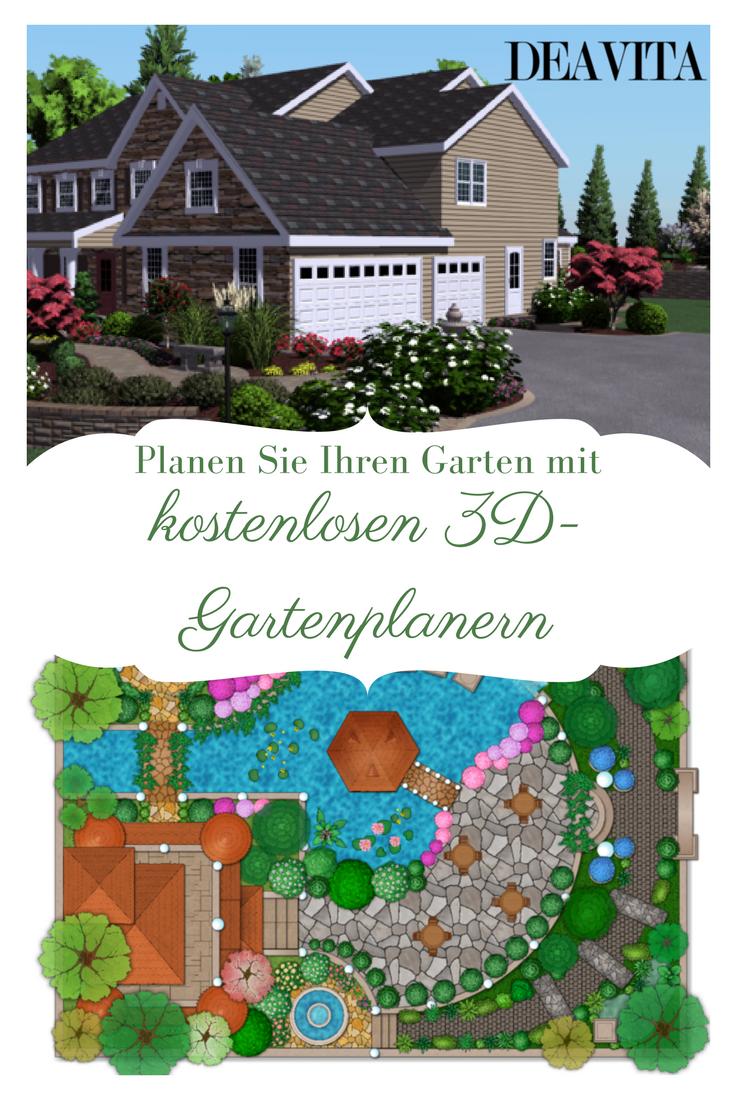 Wir Stellen Ihnen In Diesem Artikel Ein Paar Einfache Und Kostenlose 3d Gartenplaner Vor Sowie Eine Auswahl An Erfolgreichen Garten Landschaftsplanung Planer