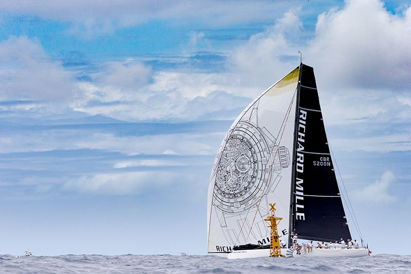 © christophe_jouany #Sorcha #Boat #Yacht #LesVoilesdeStBarth  #Sailing #Race #Sea #Travel #RichardMille