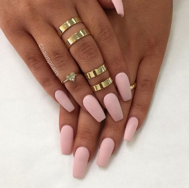 Pin By Danielle Shin On Nails Nails Matte Pink Nails