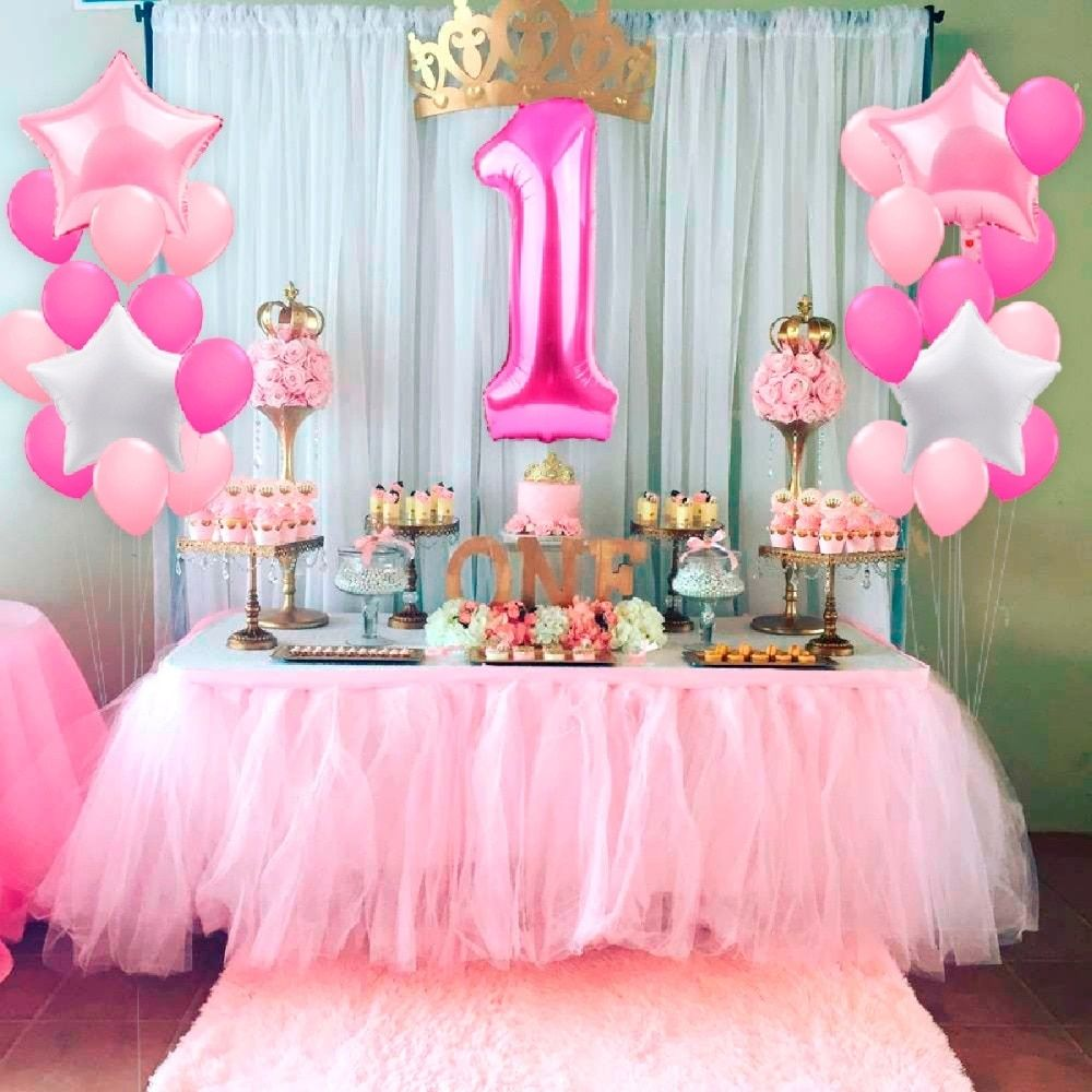 First Birthday Party Decorations For Ideas 2020 Birthday Ideas Make It Birthday Decorations Kids 1st Birthday Party Decorations Girl Birthday Decorations