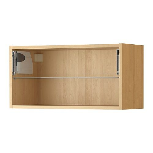 ikea wall cabinets akurum wall cabinet frame horizontal in birch from ikea 17757