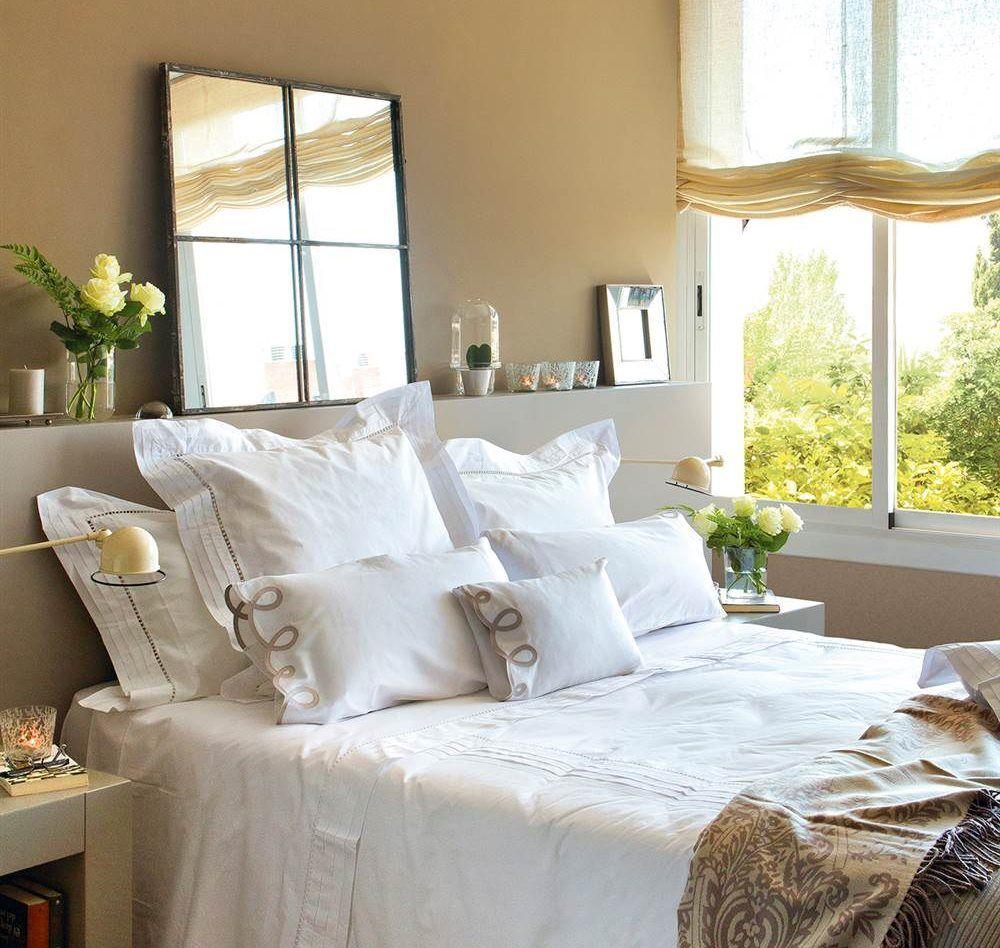 Tu dormitorio es peque o tiene poca luz quieres ganar - Dormitorios sin cabecero ...