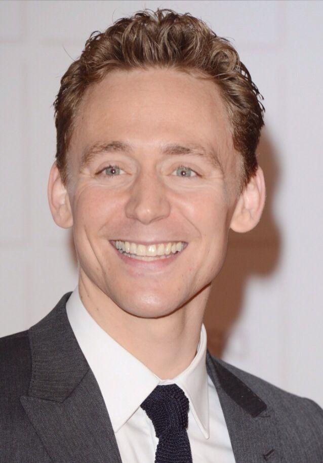 Hiddleston's smile makes the world smile