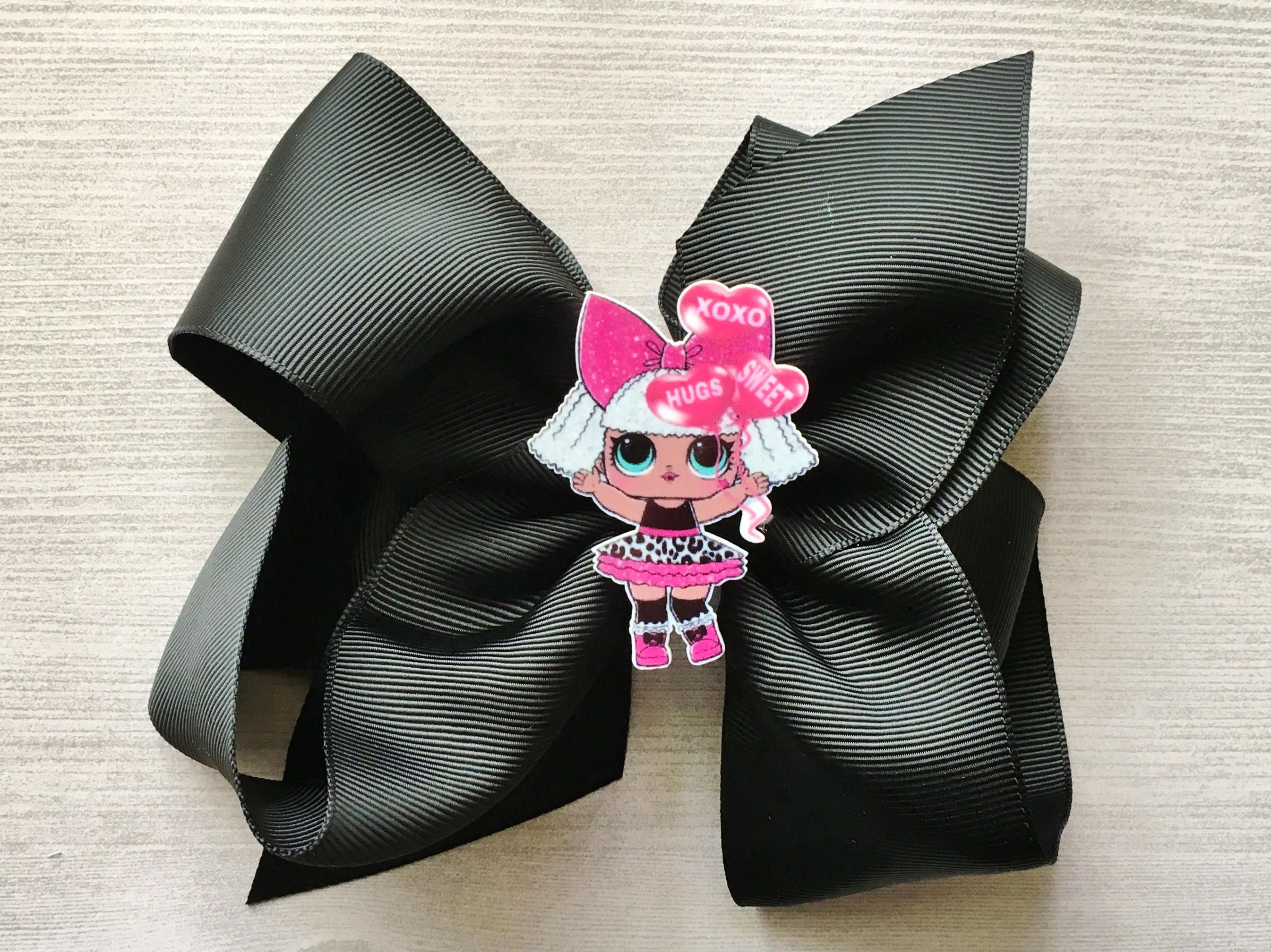 Girls LoL Ribbon Hair Bow Hair Accessories