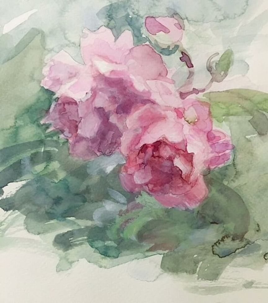 Watercolorist Lana Yashina Art Waterblog Akvarel