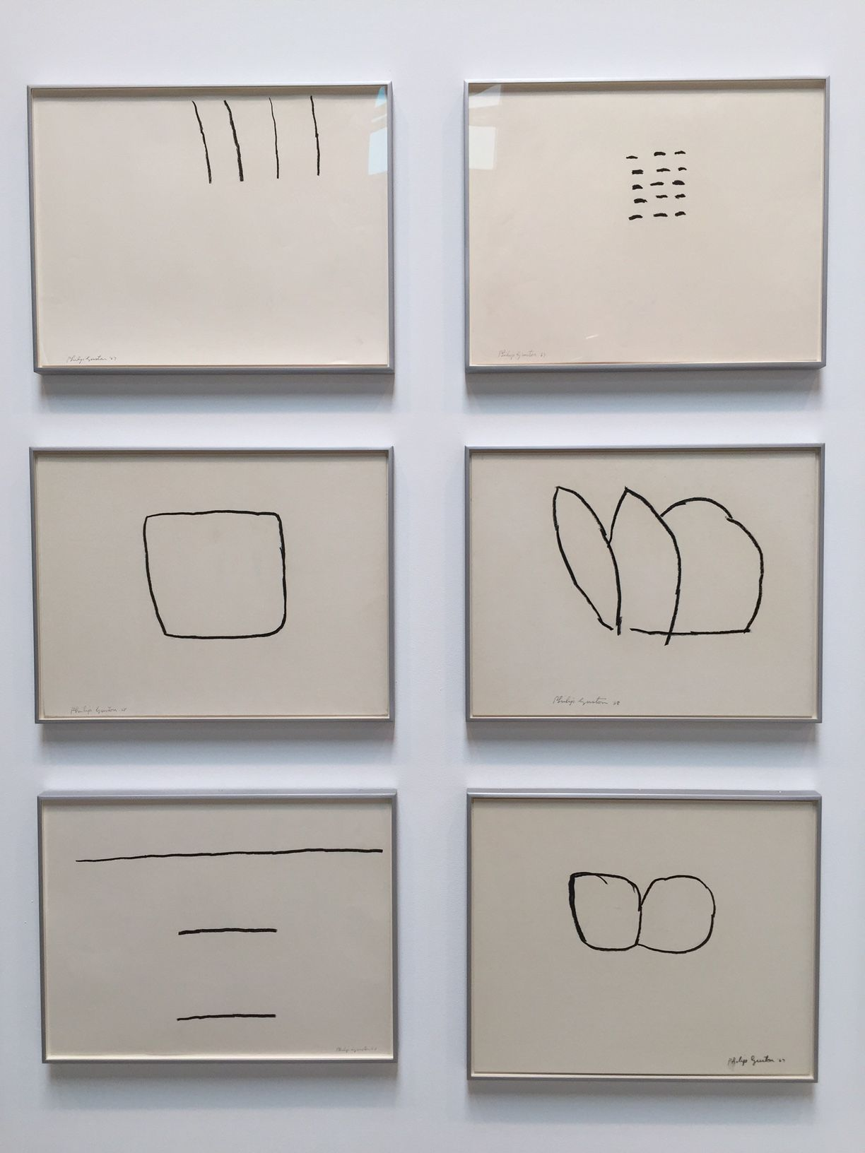 Philip Guston  drawings photographed at Hauser  Wirth gallery NYC 2016  Art inspiration