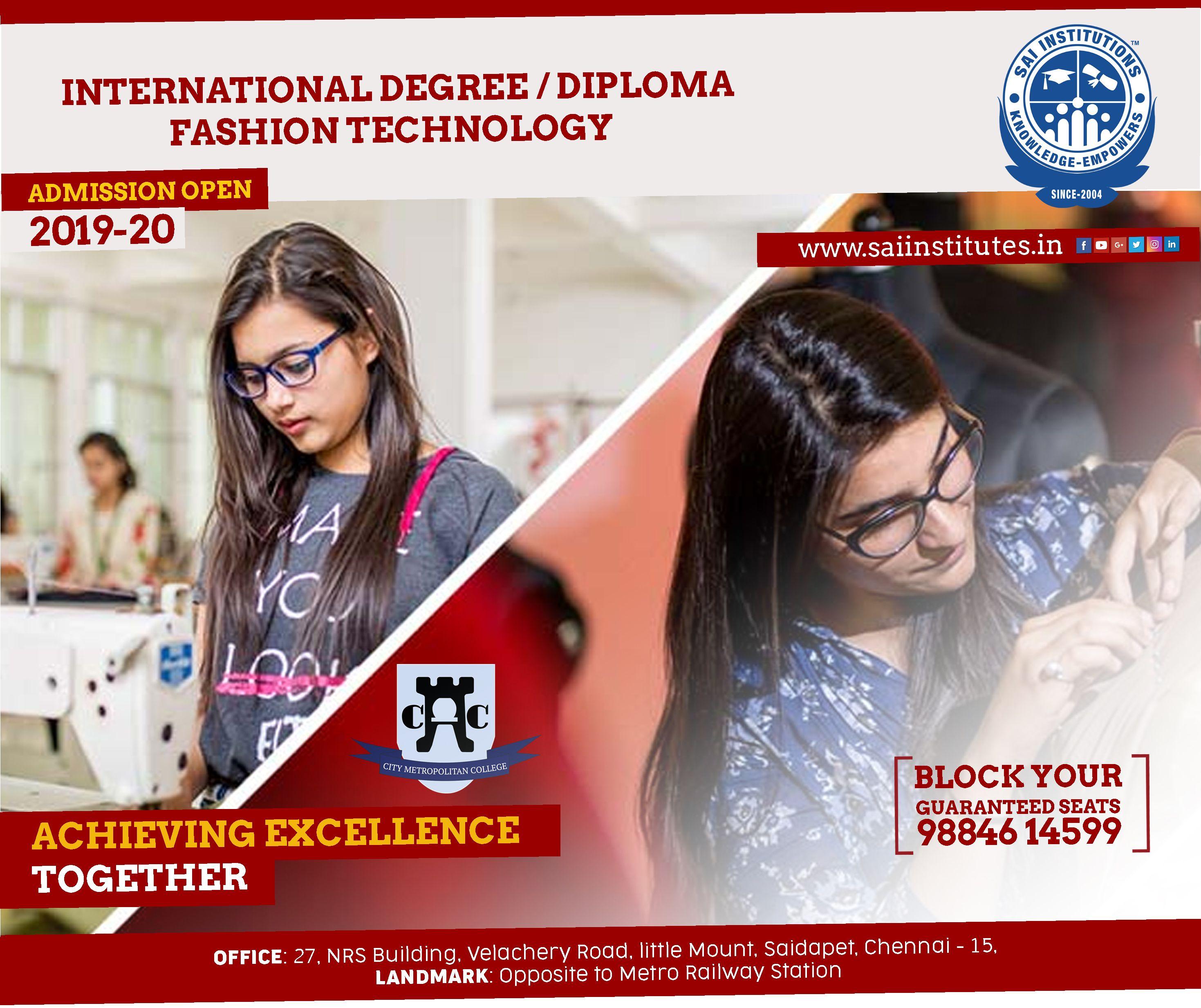 Fashion Design Course In Chennai Design Course Technology Fashion Fashion Design