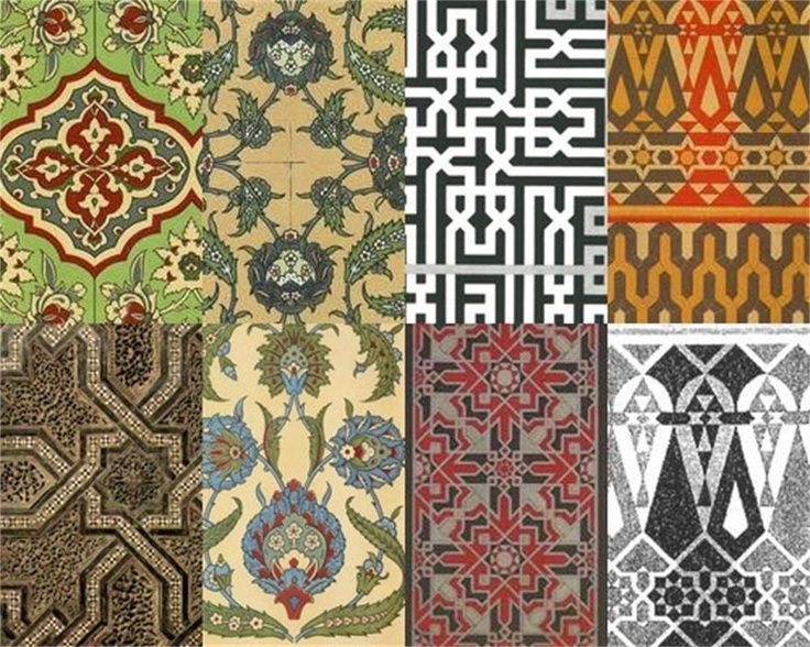 Middle Eastern Patterns ❥✿⚛PATTERNS⚜⚜PRINTS⚛✿❥ In 40 Mesmerizing Middle Eastern Patterns
