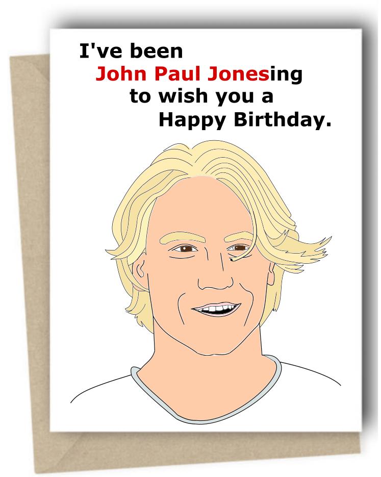 John Paul Jones Bachelor And Bachelor In Paradise Card John Paul Jones Bachelor Memes The Bachelor In Paradise