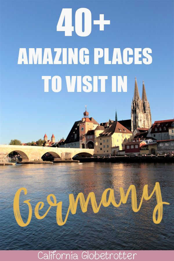 Top Places to Visit in Germany! #smalltowntravel