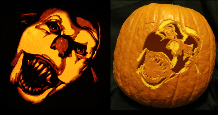 Pennywise The Dancing Clown Pumpkin Pennywise The Dancing Clown