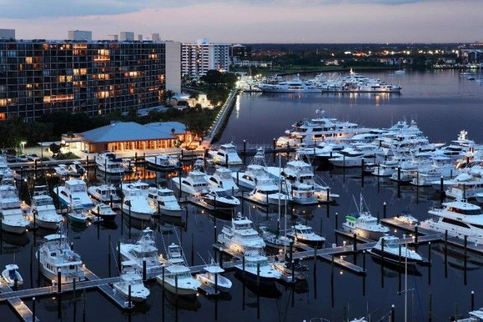 Old Port Cove Marina In North Palm Beach Florida United States
