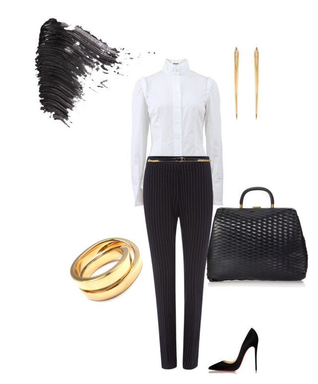 """""""Untitled #165"""" by grownupfashionfun ❤ liked on Polyvore featuring мода, Alexander McQueen, Linea, Michael Kors, Marni, Christian Louboutin, Shaun Leane, Cartier и Topshop"""