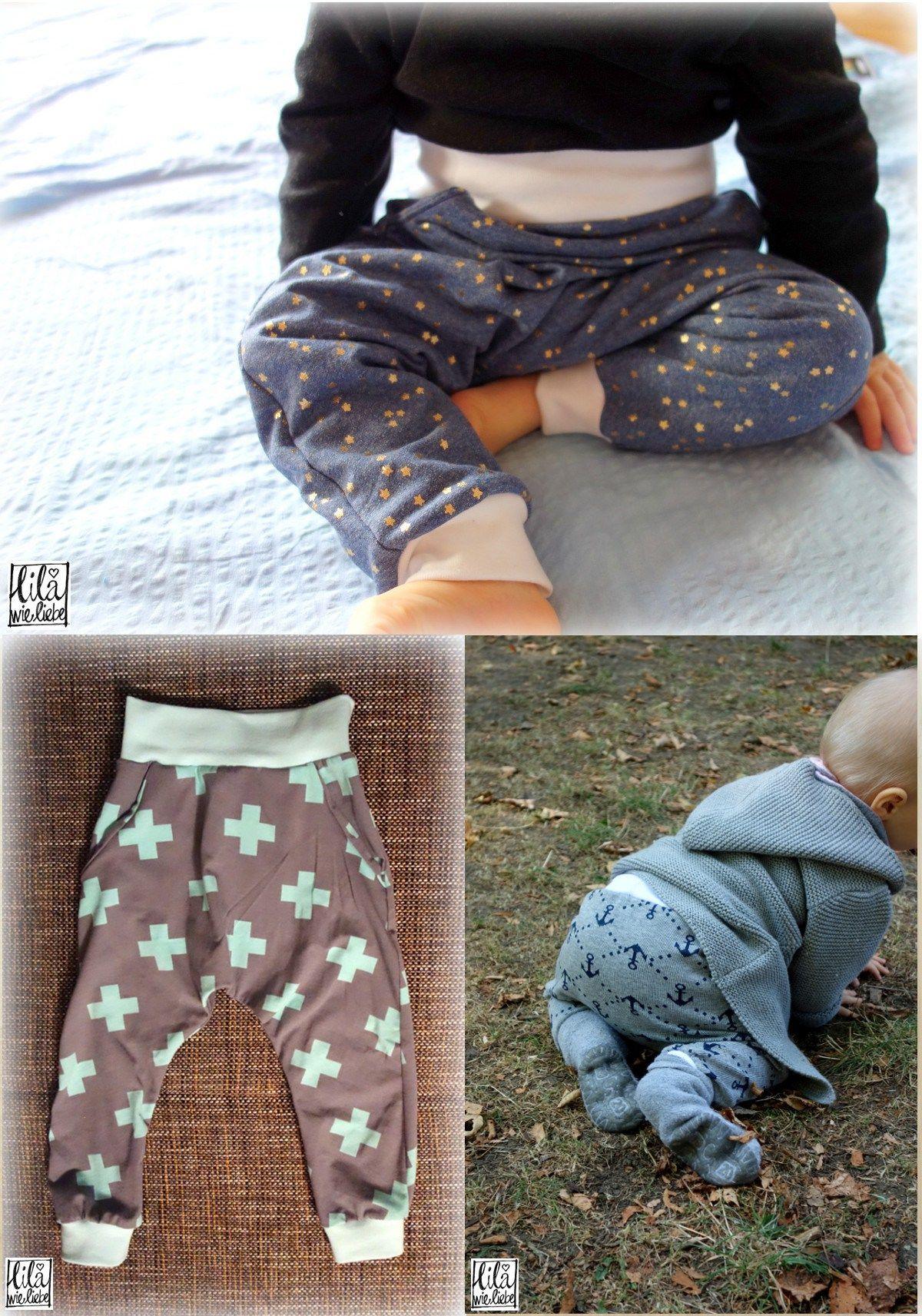 Babyhose und Kinderhose nähen: \