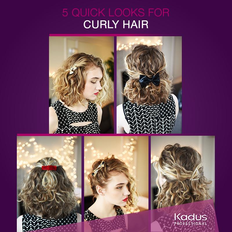 تصفيف الشعر المموج يتطلب الكثير فوضع بعض الأكسسوارات لشعرك يوفر عليك الوقت Every Day With Curly Hair Is An Adventure And Adding I Hair Styles Hair Dreadlocks