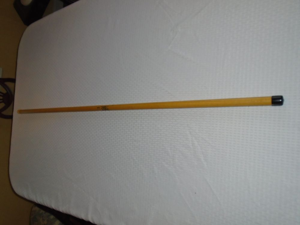 Cane pole rare fiberglass zip pole cane pole 16 ft for Fiberglass fishing pole