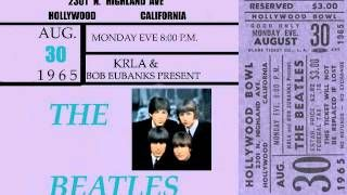 the beatles at the hollywood bowl 1965 - YouTube
