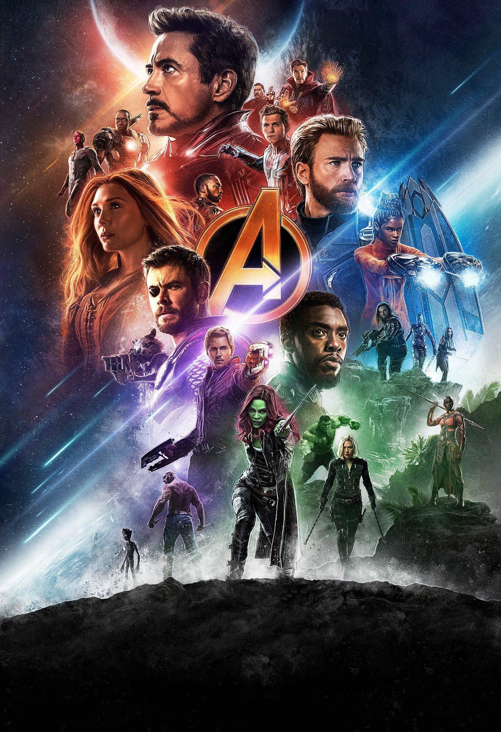High Res Textless Infinity War Dolby Cinema Poster Marvel Marvel