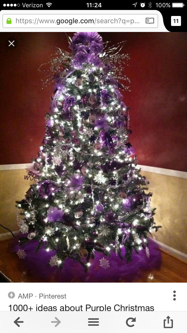 Discover Ideas About Purple Christmas Decorations