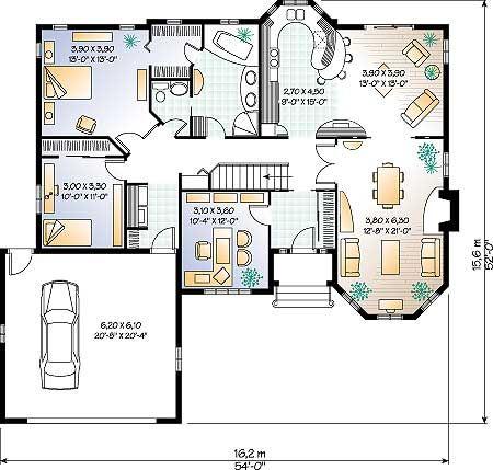 Imagenes de terrazas de casas buscar con google planos for Casa de una sola planta planos