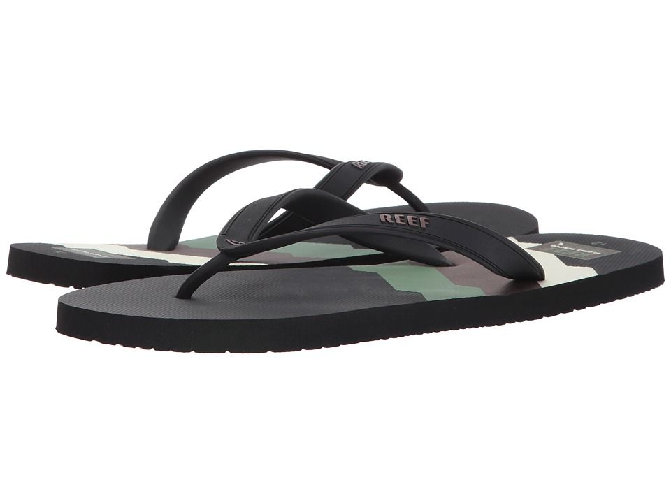 f1ce9dca2e17 REEF REEF - SWITCHFOOT PRINTS (70S BLACK LINES) MEN S SANDALS.  reef  shoes