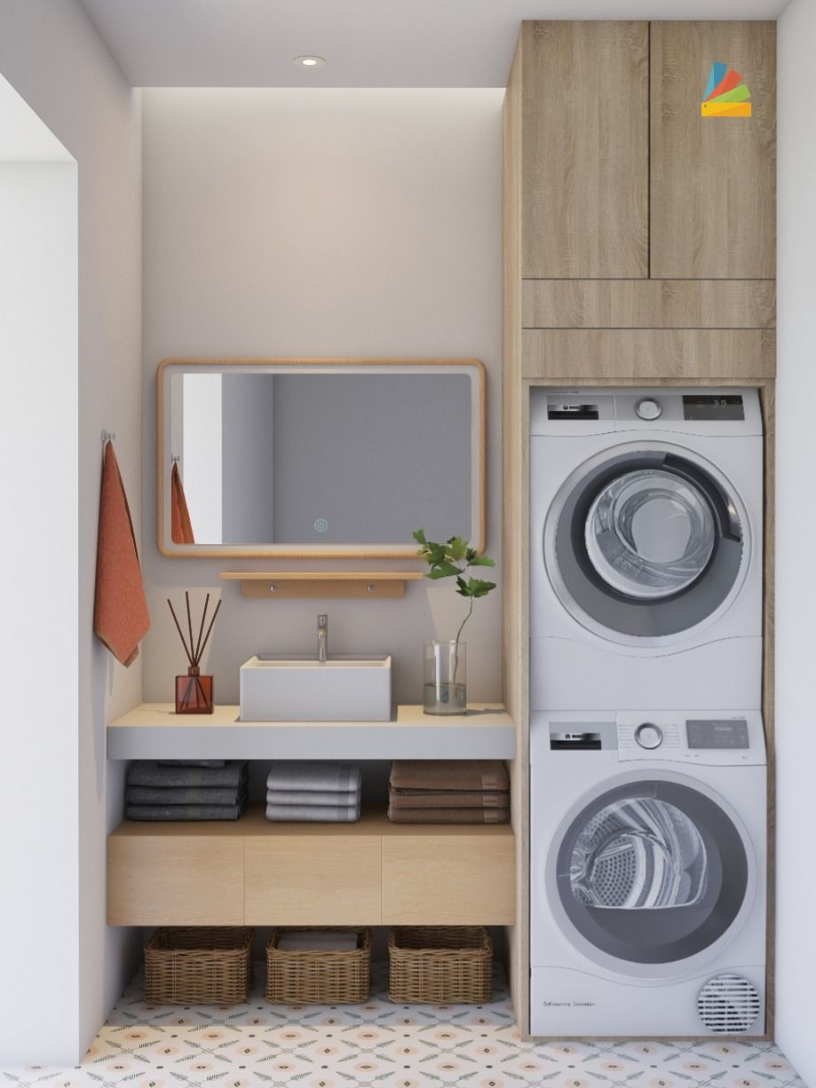 Online Room Designer Tool: If Your Apartment Is Not Large, Integrating Laundry Room