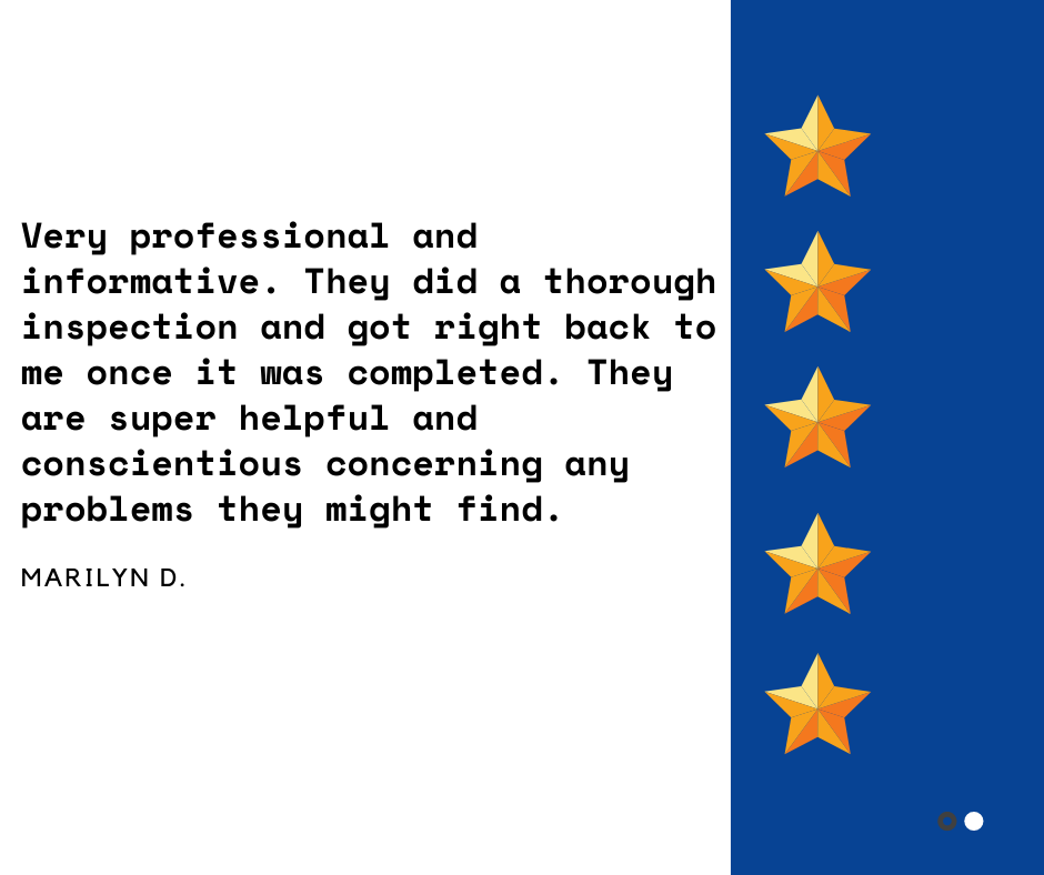 Bent Nail Inspections Salt Lake City Incredible Five Star Review By Marilyn D Informative Words Kind Words