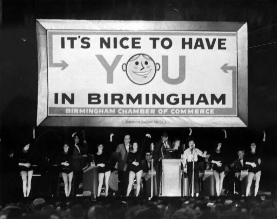 It S Nice To Have You In Birmingham Sign Vintage Birmingham